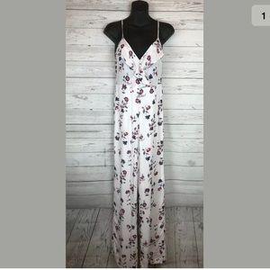 Elodie flora white romper pantsuit jumper size m